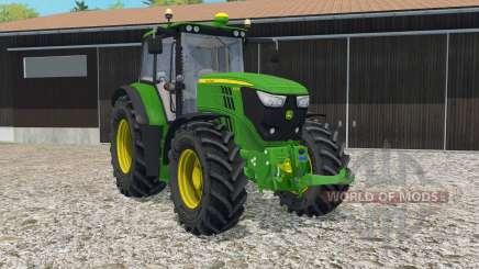John Deere 6150M full lighting для Farming Simulator 2015