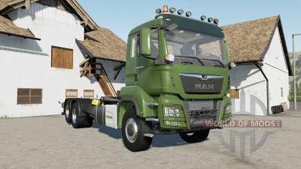 MAN TGS 18.500 hooklift для Farming Simulator 2017