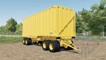 Randon sugarcane trailer dump faster для Farming Simulator 2017