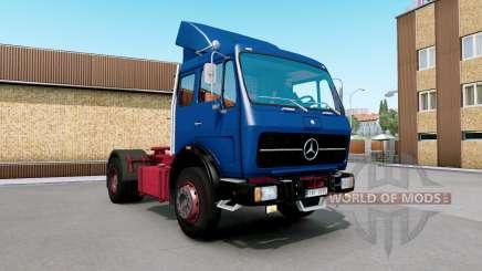 Mercedes-Benz NG 1632 congress blue для Euro Truck Simulator 2