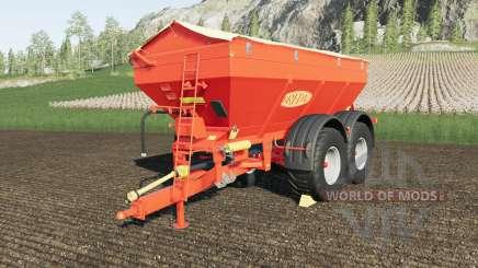 Bredal K165 crazy spreader для Farming Simulator 2017