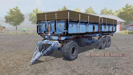 ПТС-12 мягко-синий для Farming Simulator 2013