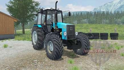 МТЗ-1221В Беларус с погрузчиком Laumetris для Farming Simulator 2013