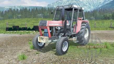Ursus 1002 front loader для Farming Simulator 2013