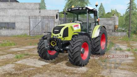 Claas Axos 330 interactive control для Farming Simulator 2017
