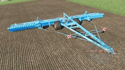 Lemken Gigant 12S-1600 Heliodor 9 plow для Farming Simulator 2017