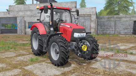 Case IH Maxxum 110 CVX improved mirrors для Farming Simulator 2017