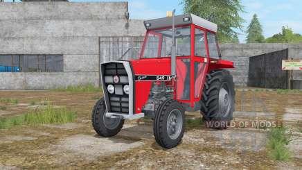IMT 549 DeLuxe light brilliant red для Farming Simulator 2017