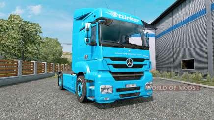 Mercedes-Benz Axor 1843 MegaSpace для Euro Truck Simulator 2