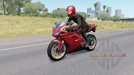 Motorcycle Traffic Pack v3.8 для American Truck Simulator
