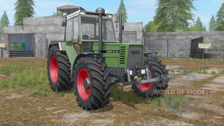 Fendt Favorit 600 LSA Turbomatik E для Farming Simulator 2017