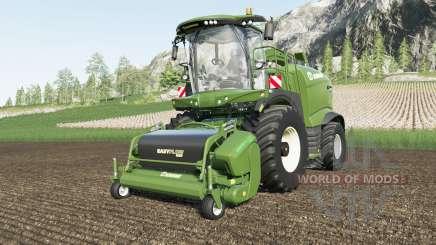 Krone BiG X 1180 increased transfer rate для Farming Simulator 2017