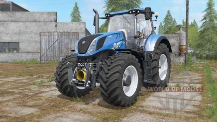 New Holland T7-series with FL console для Farming Simulator 2017