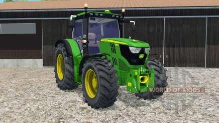 John Deere 6150R FL console для Farming Simulator 2015
