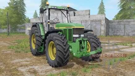 John Deere 7800 interactive control для Farming Simulator 2017