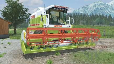 Claas Mega 218 & C600 для Farming Simulator 2013