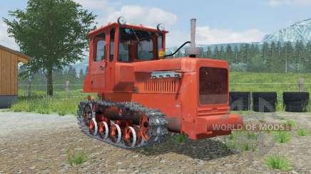 ДТ-75М с бульдозерным оборудованием для Farming Simulator 2013