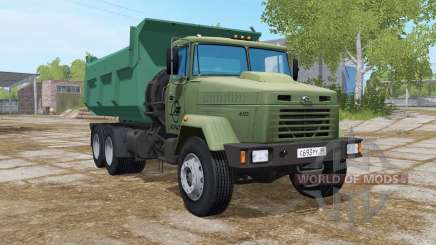 КрАЗ-6510 перекрашен для Farming Simulator 2017