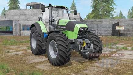 Deutz-Fahr Serie 7 TTV custom exhaust effect для Farming Simulator 2017