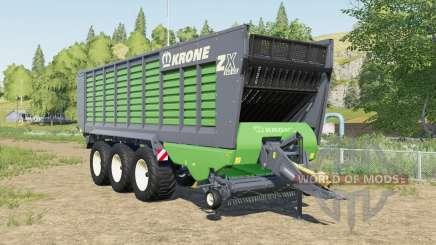 Krone ZX 560 GD increased capacity для Farming Simulator 2017