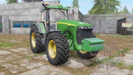 John Deere 8020 для Farming Simulator 2017