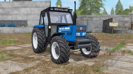 New Holland 110-90 science blue для Farming Simulator 2017