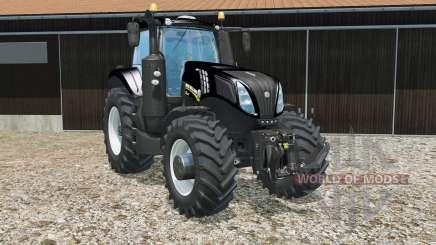 New Holland T8.435 schwartz для Farming Simulator 2015