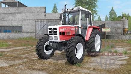 Steyr 8090A Turbo with configuration для Farming Simulator 2017