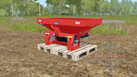 Rauch MDS 19.1 rotating plates для Farming Simulator 2017