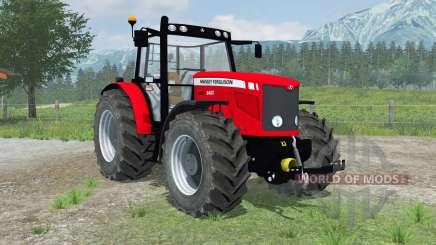 Massey Ferguson 6480 new wheels для Farming Simulator 2013
