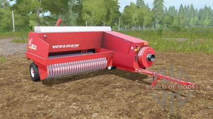 Welger AP 730 для Farming Simulator 2017