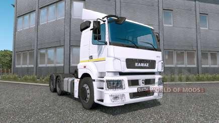 КамАЗ-65206 (T26.42) для Euro Truck Simulator 2