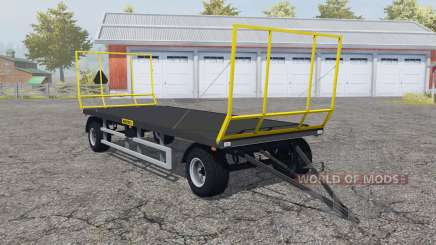 Wielton PRS-2S-S9 folding front and rear wall для Farming Simulator 2013