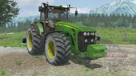 John Deere 8430 manual ignitioꞑ для Farming Simulator 2013