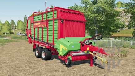 Strautmann Zelon CFS 2501 DO with more volume для Farming Simulator 2017