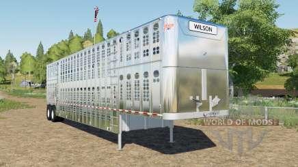 Wilson Silverstar high capacity для Farming Simulator 2017
