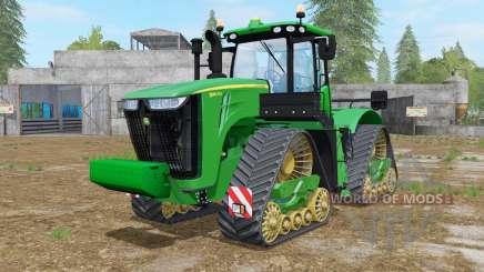 John Deere 9560RX north texas greeɳ для Farming Simulator 2017