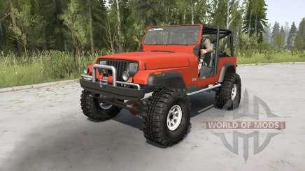 Jeep Wrangler (YJ) 1989 для MudRunner