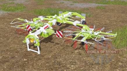 Claas Liner 2700 fixed bug with wheels для Farming Simulator 2017
