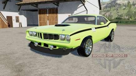 Plymouth Hemi Cuda 426 1971 для Farming Simulator 2017