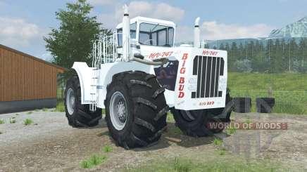 Big Bud 16V-747 change wheels для Farming Simulator 2013