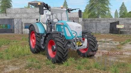 Fendt 700 Vario bondi blue для Farming Simulator 2017