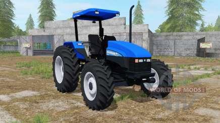 New Holland TL95E gradus blue для Farming Simulator 2017