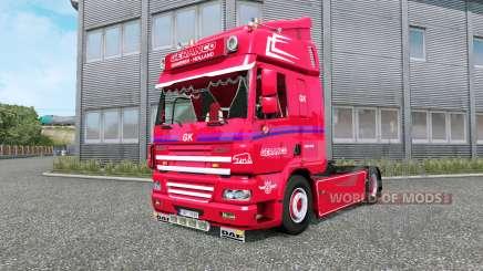 DAF CF Geranco v1.1 для Euro Truck Simulator 2