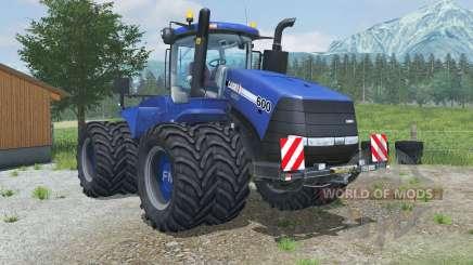 Case IH Steiger 600 hazard lights для Farming Simulator 2013