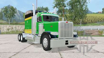 Peterbilt 388 tricolor для Farming Simulator 2015