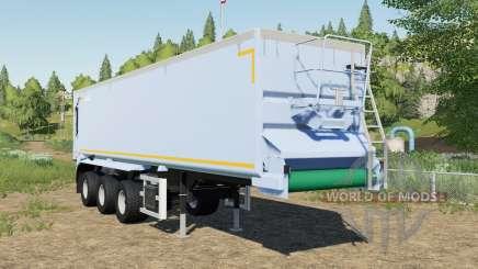 Krampe SB II 30-1070 adjusted tipper back door для Farming Simulator 2017