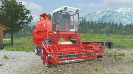 Bizon Rekord Z058 coral red для Farming Simulator 2013