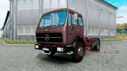 Mercedes-Benz NG 1632 burnished brown для Euro Truck Simulator 2