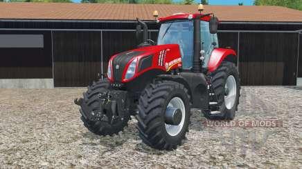 New Holland T8.435 in red для Farming Simulator 2015